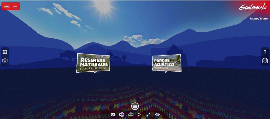 Imagen de inicio del portal Paseo Guatemala
