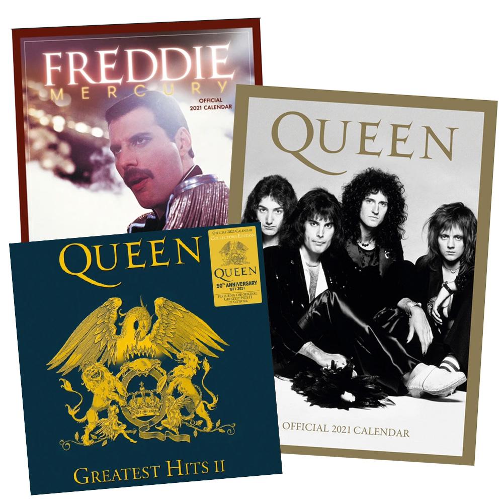 Algunos de los discos de Queen/Foto: Cuenta oficial de Queen.