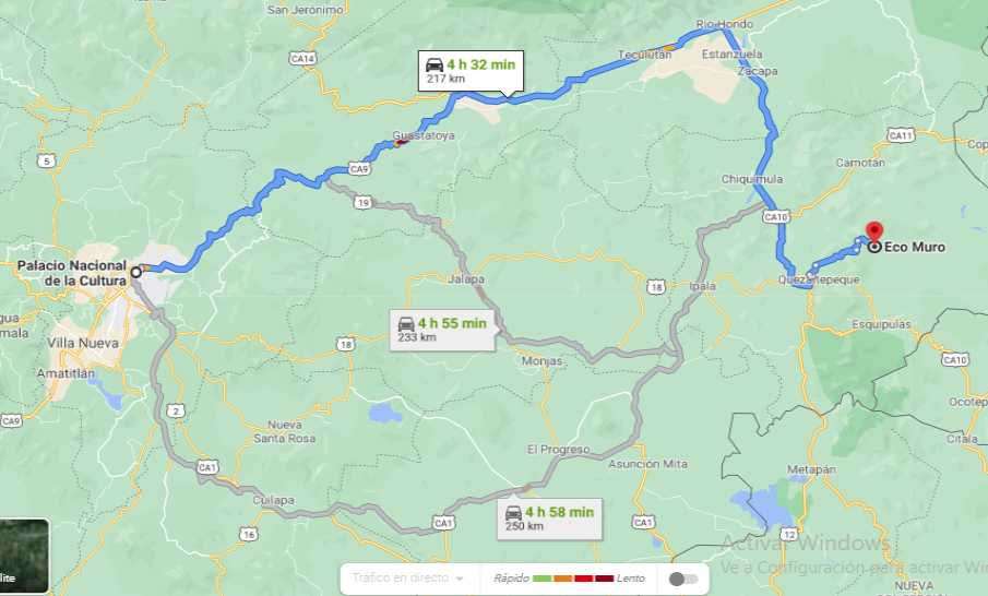Mapa-ecomuro