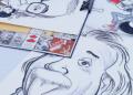 Artistas exponen sus obras en la Plaza España