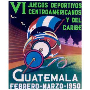 Juegos Centroamericanos y del Caribe, Guatemala 1950