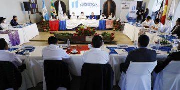 visita del presidente Alejandro Giammattei en Sololá