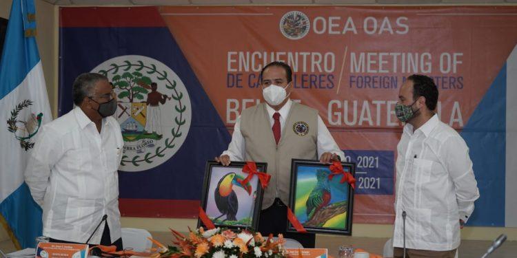 Realizan primer encuentro entre cancilleres de Guatemala y Belice