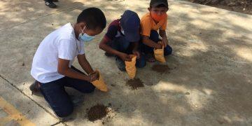 Promueven cuidado del ambiente en niños y jóvenes./Foto: MARN.