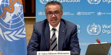 Director general de la OMS, Tedros Adhanom Ghebreyesus.