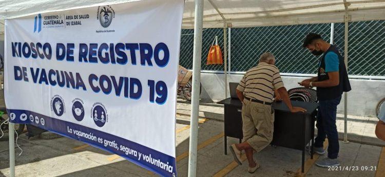 Registro de vacunación por parte de Salud