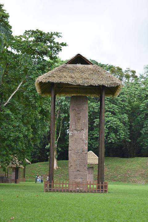 Sitio arqueológico Quiriguá./Foto: DCA.