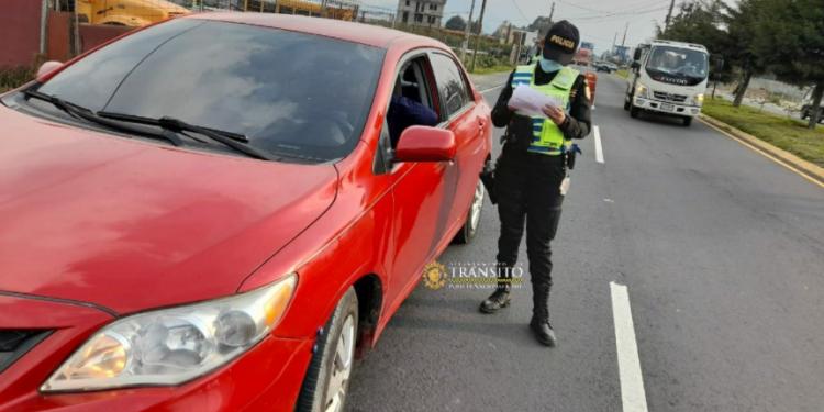 Departamento de Tránsito de la PNC arranca campaña Conductor Responsable