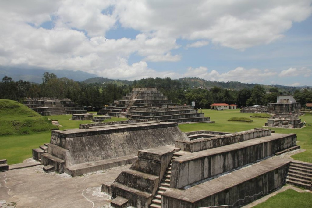 Sitio arqueológico Zaculeu./Foto: MCD.