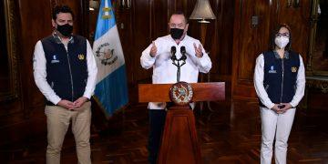Presidente Alejandro Giammatei en mensaje por el Dia Internacional de los Trabajadores