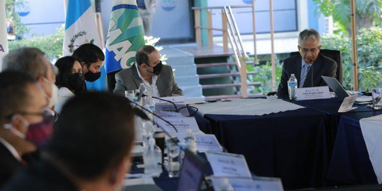 Visita del presidente Alejandro Giammattei en el Ministerio de Agricultura, Ganadería y Alimentación