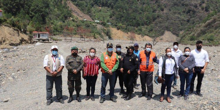 Autoridades de Huehuetenango mantienen acciones de apoyo en Mixlaj