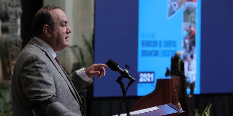 Organismo Ejecutivo presenta por primera vez informe cuatrimestral de labores