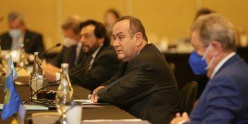 Participación del presidente Alejandro Giammattei en Cumbre de Jefes de Estados y de Gobierno del Sica en Costa Rica