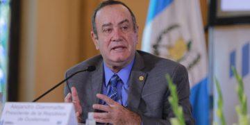 El presidente Alejandro Giammattei participó en la inauguración del Proceso de Presupuesto Abierto 2022-2026