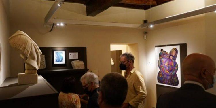 La exhibición estará abierta al público hasta el 31 de este mes, en Italia