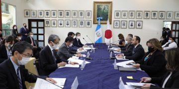 Las delegaciones de Guatemala y Japón abordaron temas de interés binacional