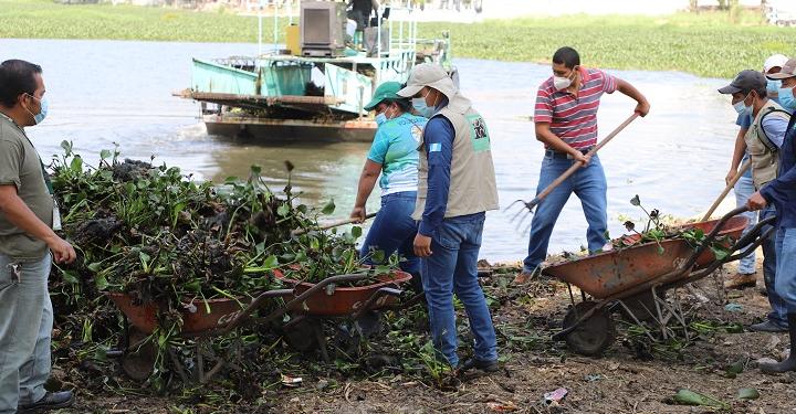 La extracción de la ninfa se realiza con apoyo de varios sectores del país