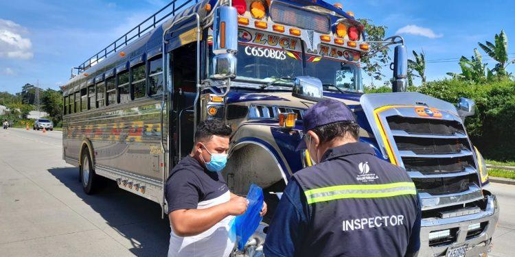 DGT continúa con operativos de verificación al transporte extraurbano