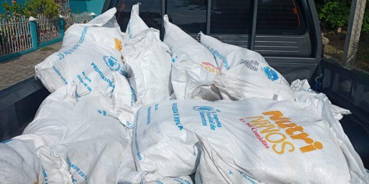 Se inicia nueva entrega de alimento complementario en El Progreso