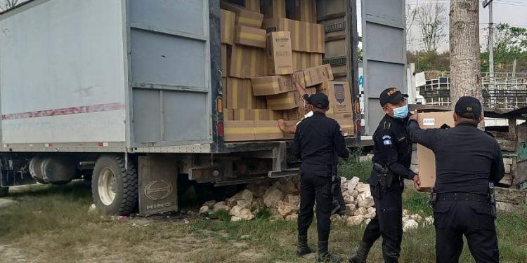 Confiscan más de 29 millones de quetzales en mercadería de contrabando durante el primer semestre