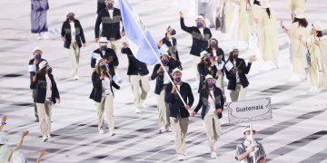 Guatemala en desfile de Tokio 2021