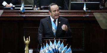 Discurso del presidente Alejandro Giammattei en el Congreso de la República