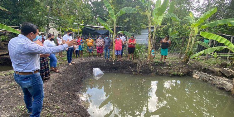 MAGA promueve cultivo de tilapia en San Benito, Petén