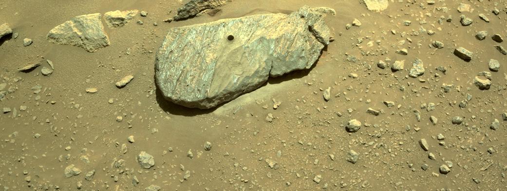 El Perseverance recoge las primeras rocas de otro planeta